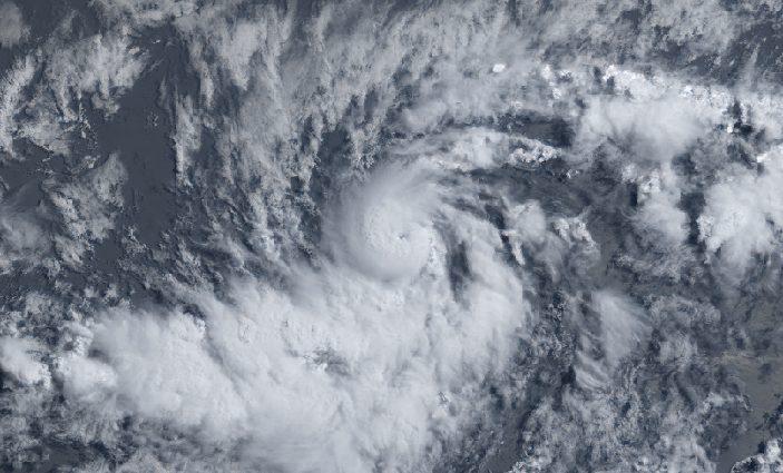 Hurricane Beryl at peak intensity. July 06, 2018